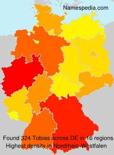 Familiennamen Tobias - Germany
