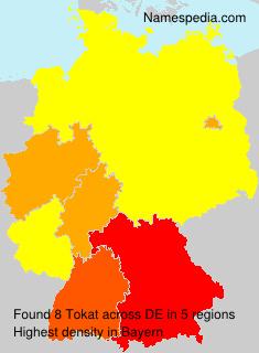 Familiennamen Tokat - Germany