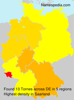 Surname Tornes in Germany