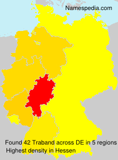 Surname Traband in Germany