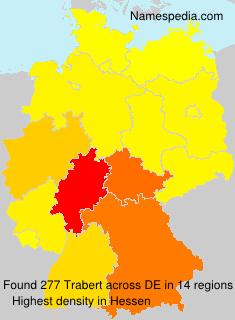 Familiennamen Trabert - Germany