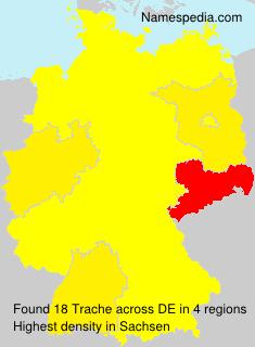 Familiennamen Trache - Germany
