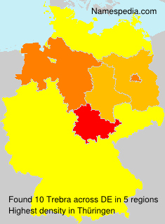 Surname Trebra in Germany