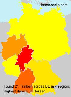 Surname Treibert in Germany