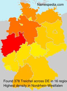 Familiennamen Treichel - Germany