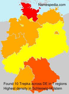 Surname Trepka in Germany