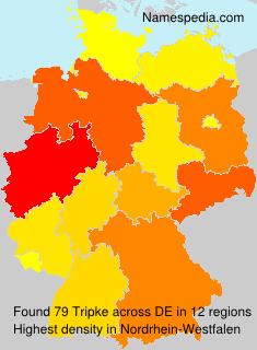 Surname Tripke in Germany