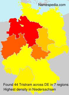 Familiennamen Tristram - Germany