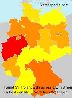 Surname Trojanowski in Germany