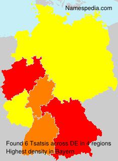 Surname Tsatsis in Germany