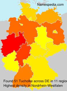 Surname Tucholke in Germany