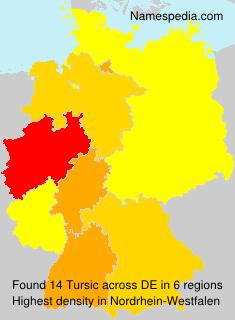 Surname Tursic in Germany