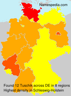 Surname Tuschik in Germany