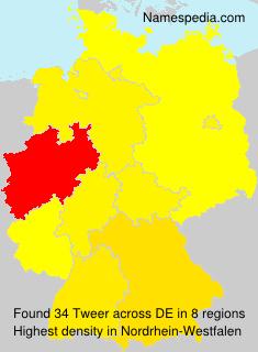 Familiennamen Tweer - Germany