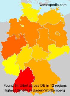 Surname Uibel in Germany