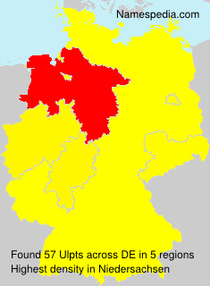 Surname Ulpts in Germany
