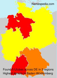 Familiennamen Ulubas - Germany