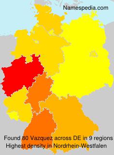 Familiennamen Vazquez - Germany