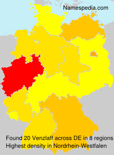 Surname Venzlaff in Germany