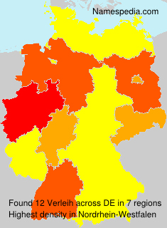 Surname Verleih in Germany