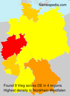 Surname Vieg in Germany
