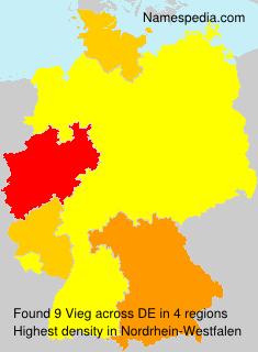 Familiennamen Vieg - Germany