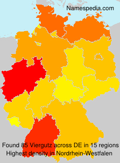 Surname Viergutz in Germany