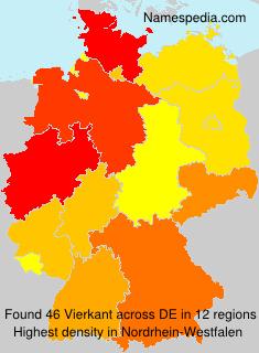 Familiennamen Vierkant - Germany