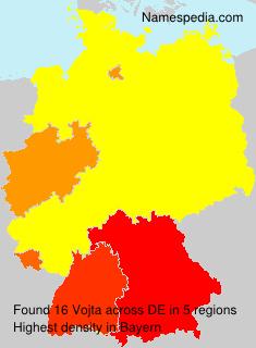 Surname Vojta in Germany
