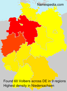 Surname Volbers in Germany