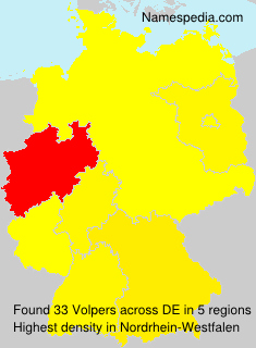 Surname Volpers in Germany
