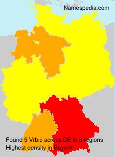Surname Vrbic in Germany