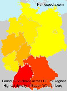 Surname Vuckovic in Germany