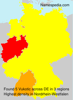 Surname Vukotic in Germany