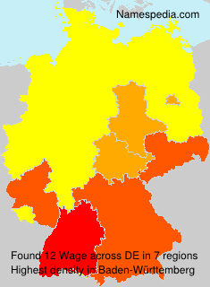 Surname Wage in Germany