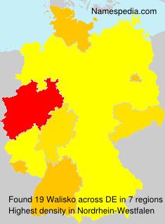Surname Walisko in Germany