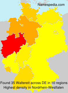Surname Waltereit in Germany