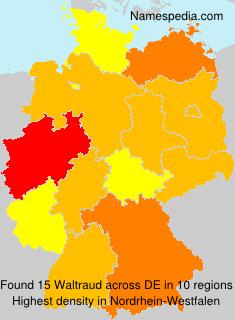 Familiennamen Waltraud - Germany