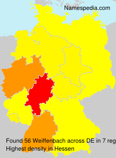 Surname Weiffenbach in Germany