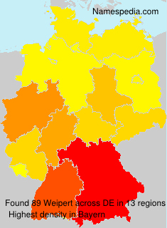 Surname Weipert in Germany