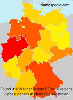 Surname Wellner in Germany