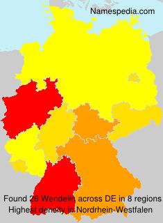 Surname Wendelin in Germany