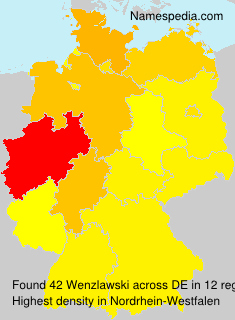 Surname Wenzlawski in Germany