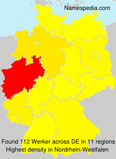 Surname Werker in Germany