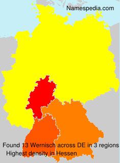 Wernisch