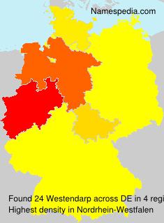 Familiennamen Westendarp - Germany