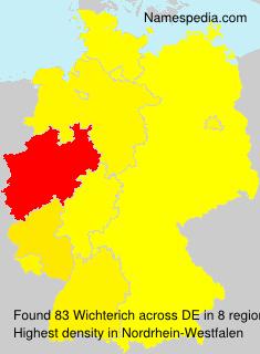 Familiennamen Wichterich - Germany