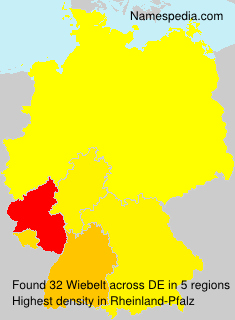 Surname Wiebelt in Germany