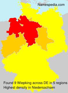 Familiennamen Wiepking - Germany