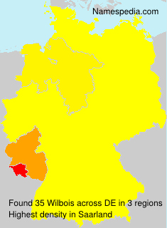 Surname Wilbois in Germany
